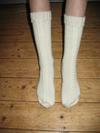 Nogle sokker er det også blevet til
